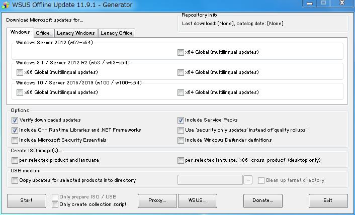 WSUS Offline Update ESR 11.9.1