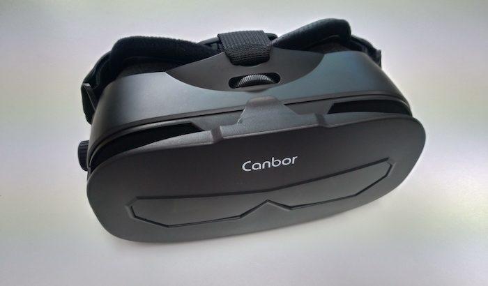 これぞ未来ガジェット! Canbor VR ゴーグルで未来のエンタテイメントを堪能する。