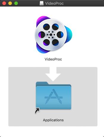 VideoProc インストール
